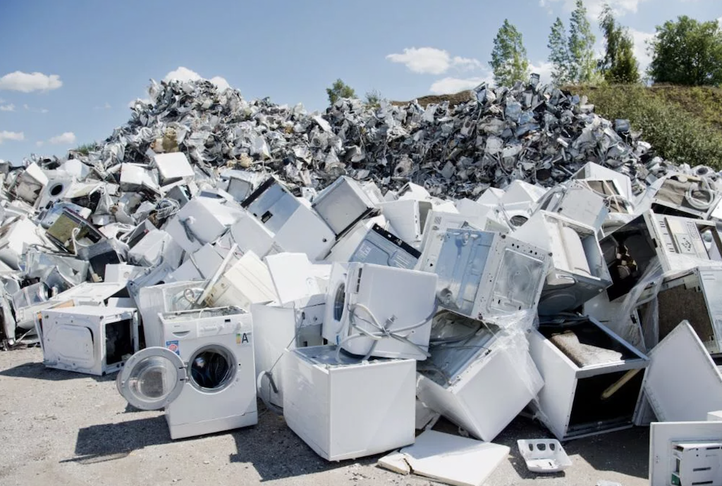 Recycling of electronics and household appliances